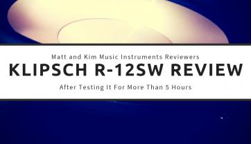 Klipsch R-12SW Review