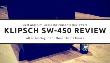 Klipsch SW-450 Review