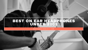 Best On Ear Headphones Under 200
