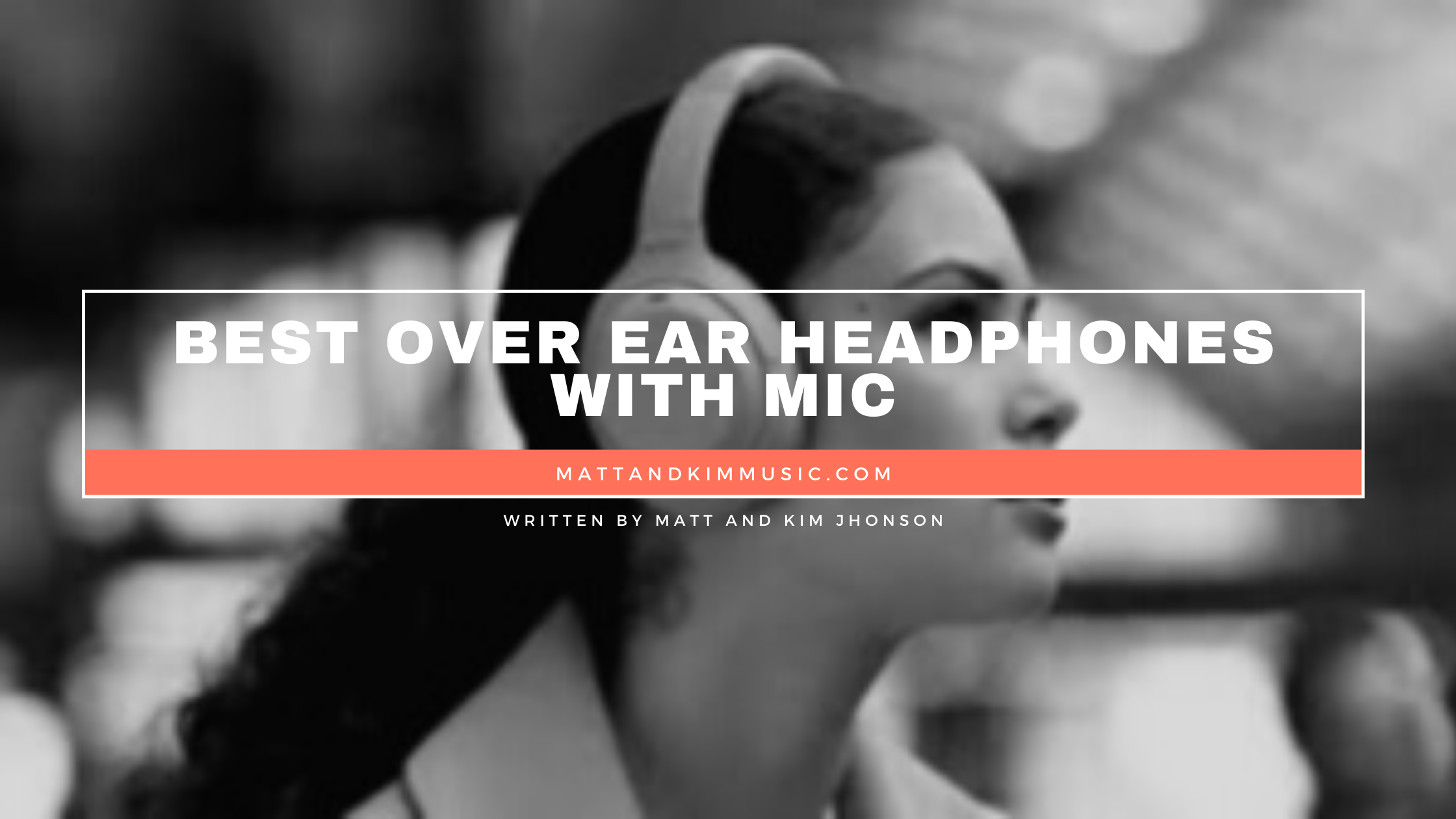 best over ear headphones with mic