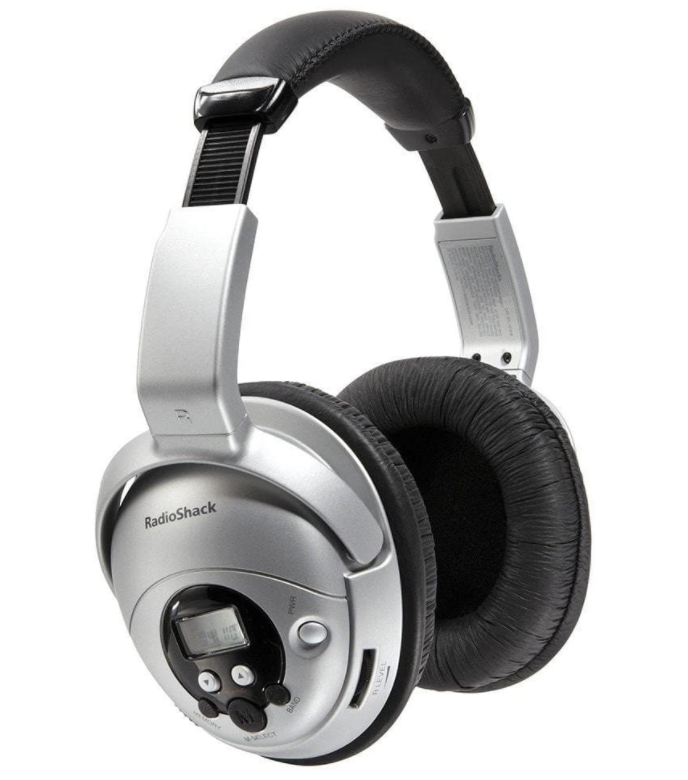 RadioShack AM FM Stereo Headset