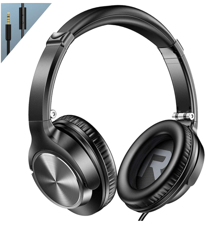 Vogek Lightweight On-Ear Headphones